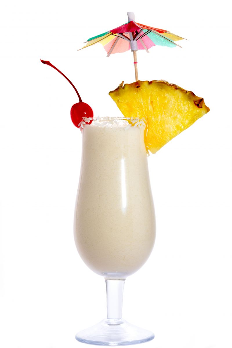 Think before you drink wellness for the win for Cocktail pina colada