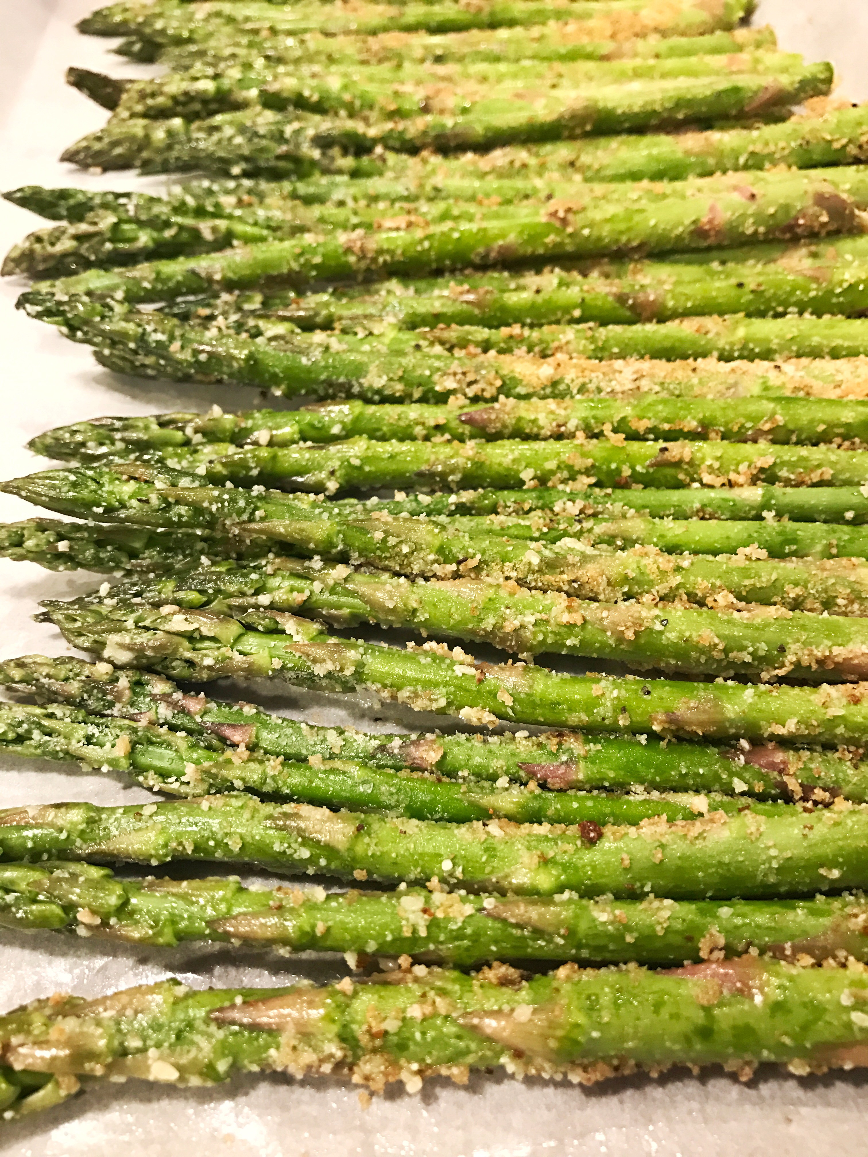 Put The Baking Sheet In Oven For 1215 Minutes, Or Until Asparagus Is  Slightly Crispy On The Outside And Tender On The Inside